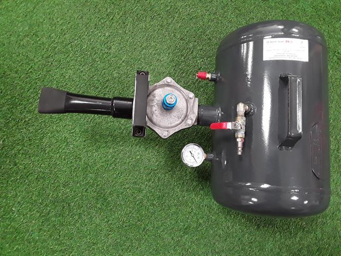 ציטה מיכל אוויר 20 ליטר מיכל אפור עם מאיץ PHD 039B