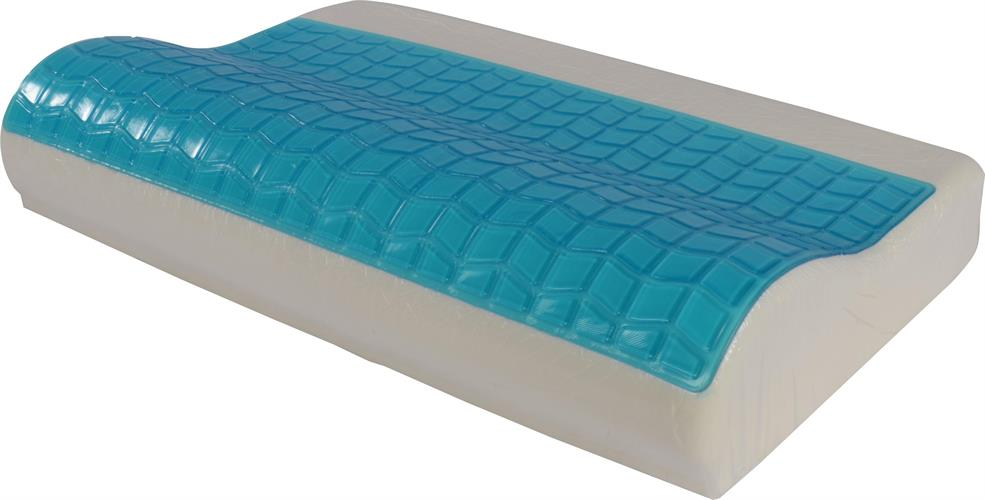 כרית שינה ויסקו גלית אורטופדית עם שכבת ג'ל קירור