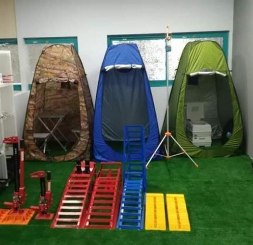 אוהל בידוד ירוק להפרדה שירותים מקלחת הנקה הלבשה סט נוחות לשטח לבית ולכל מקום אוהל אסלה