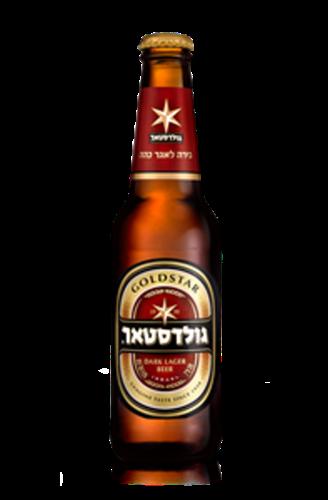 """בירה גולדסטאר 330מ""""ל  ארגז 1/24"""