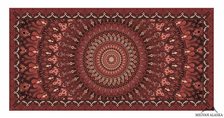 שטיח מטבח דגם - 286 מבד שאניל איכותי (מתנקה בקלות!)