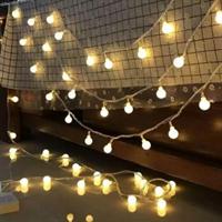 שרשרת תאורה סולארית  מרהיבה - 100 נורות אורך 10 מטר !