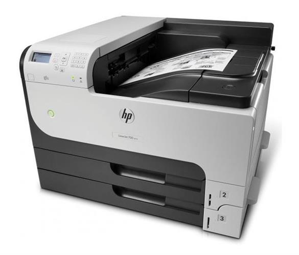 מדפסת לייזר A3 שחור לבן HP LaserJet Enterprise 700 M712DN