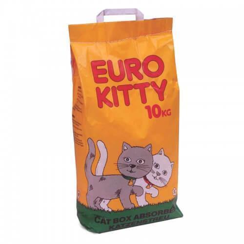 """חול לחתול יורו קיטי 10 ק""""ג"""