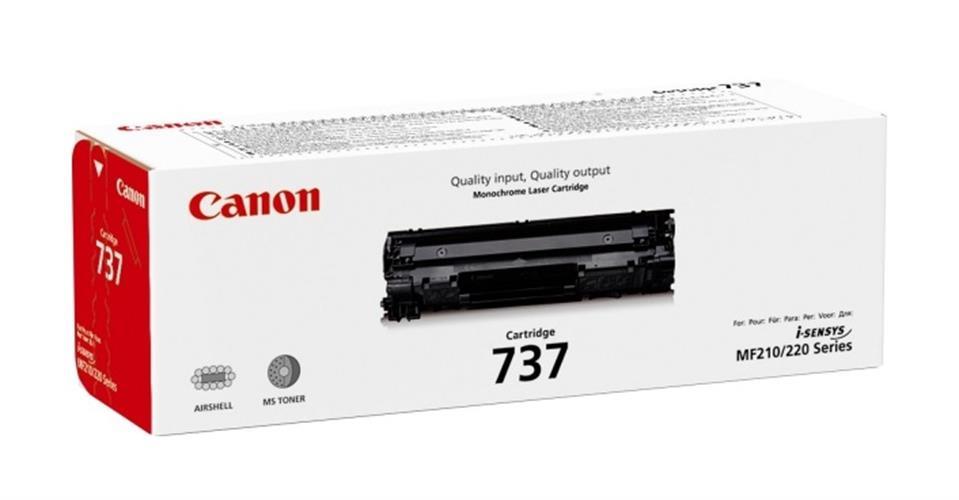 טונר מקורי שחור Canon 737 CRG737