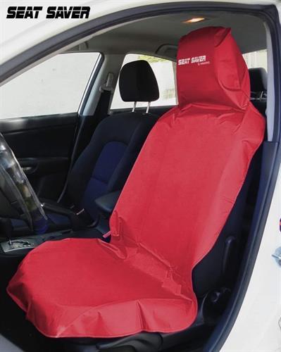 כיסוי הגנה נגד לכלוך ומים למושב הרכב (צבע אדום חסר) - כעת רק שחור וירוק במלאי