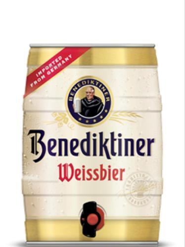 חבית בירה ביתית –Benediktiner- בנפח 5 ליטר עם ברז נשלף ונוח לשימוש  – (כשר)
