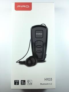 בלוטות' חוט FIRO H103 בצבע שחור
