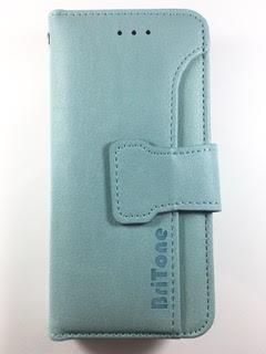מגן ספר BriTone לשיאומי +XIAOMI QIN 1S בצבע תורכיז