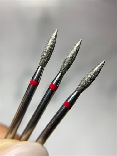להבה קצה חד אדום מידה 021-תוצרת רוסיה