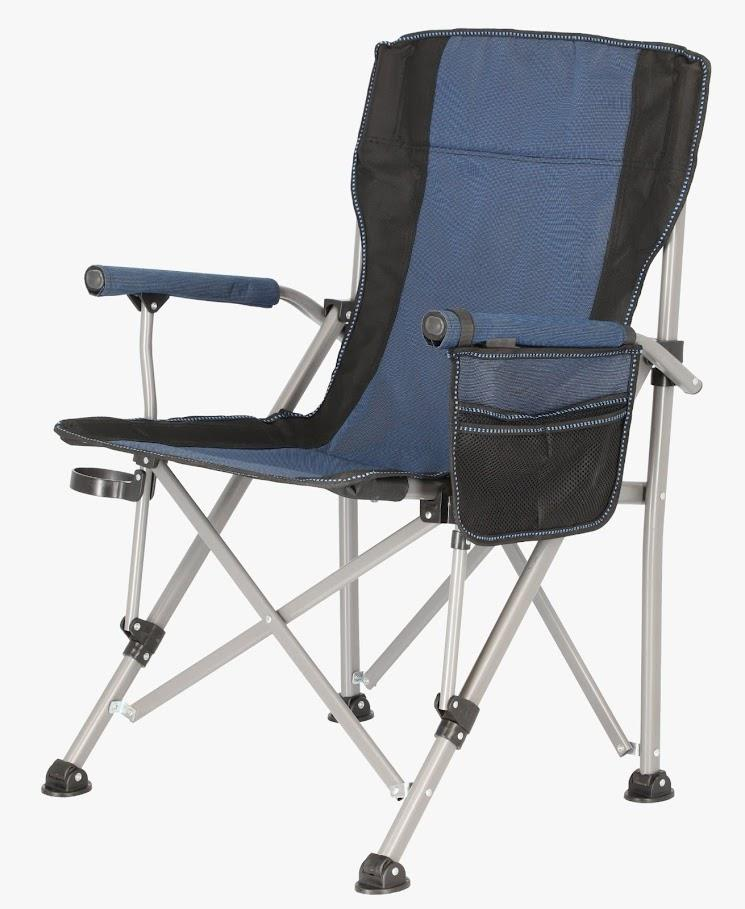 כיסא מתקפל לטיולים ספארי  צבע כחול  חגור מגיע בתוך תיק משקל ישיבה מקסימלי 120 קג
