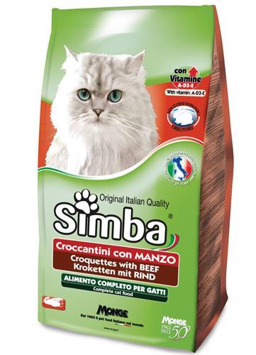 סימבה 20 קג לחתול בקר