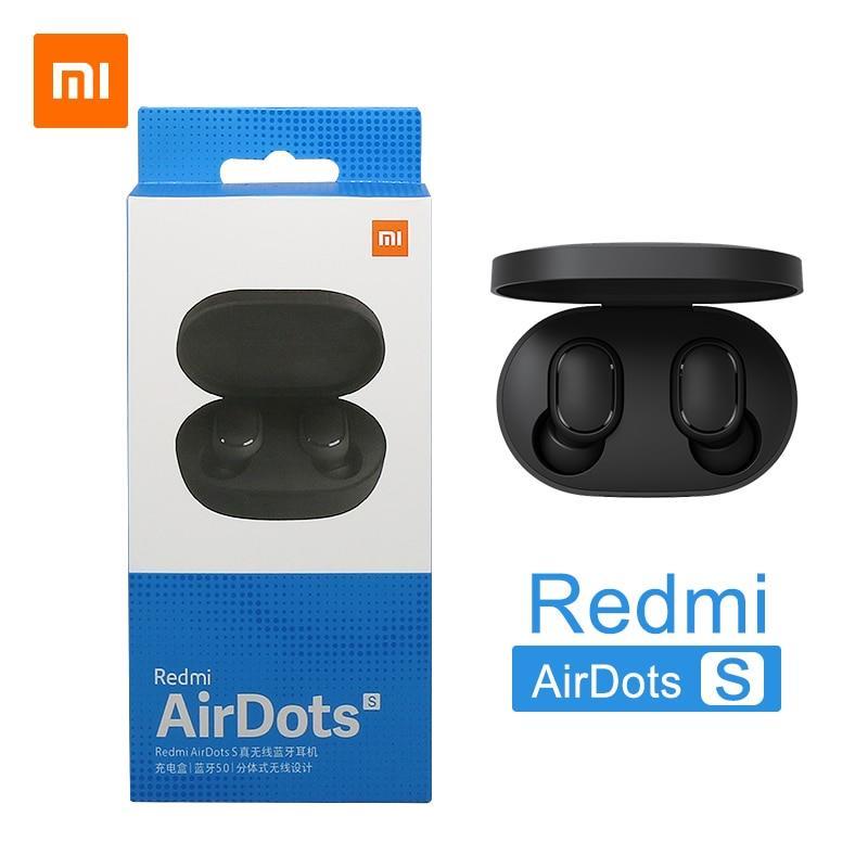 אוזניות בלוטוס - Xiaomi Redmi Airdots S  True wireless   במלאי