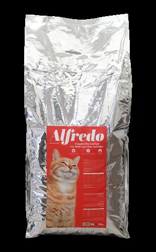 """אלפרדו מזון מלא לחתולים בוגרים אריזת חיסכון 18 ק""""ג"""