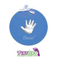 טייניארט, הטבעה תלת מימד של יד/רגל על בסיס תליה עגול