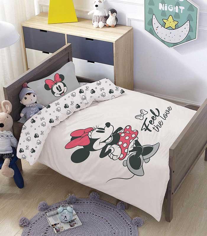 מותגים למיטת מעבר \ תינוק - טו לאב 100% כותנה