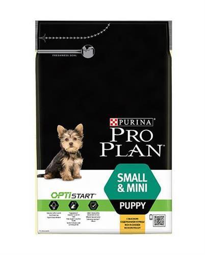 """ProPlan פרופלאן 3 ק""""ג מזון יבש לכלבים גורים מגזע קטן בטעם עוף"""