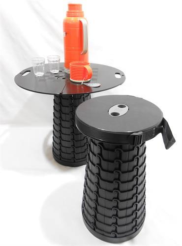 פלטה שולחן להרכבה על כיסא מתקפל  קל ונישא לכל מקום ועכשיו במהדורה חדשה EFI CAMPINGLIFE