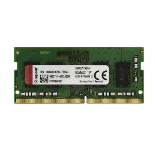 זכרון לנייד KINGSTON 4GB DDR4 2666 SO-DIM