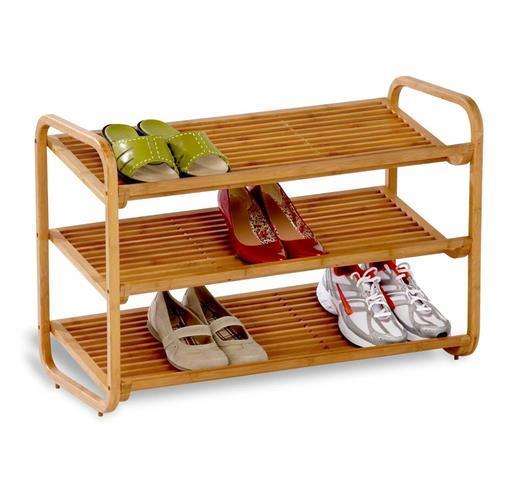 מתקן 3 קומות במבוק לנעליים