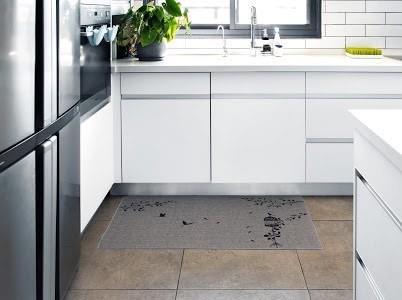שטיח מטבח איכותי בתוספת גומי בתחתית דגם - 06 (מתנקה בקלות!)