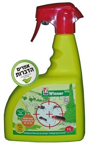 ווינר תכשיר מוכן לשימוש לקטילת חרקים 1 ליטר