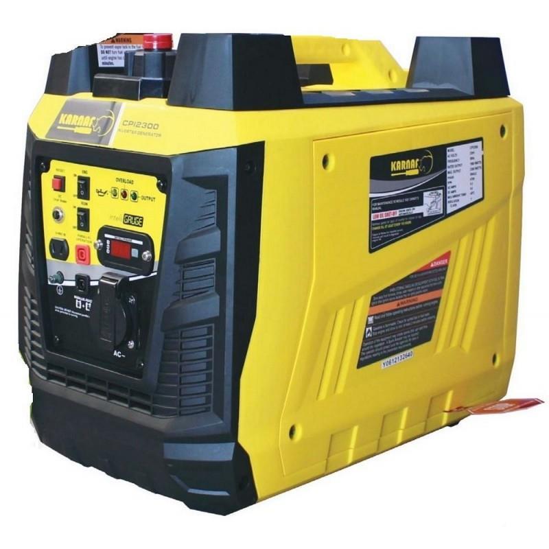 גנרטור שקט אינוונטר 2300W גנרטור מושתק עם צג דיגיטלי דגם CPI2300 ,תוצרת KARNAF גנרטור שקט דגם C