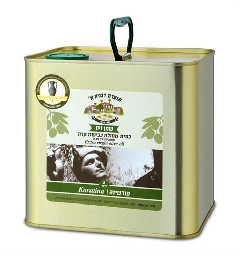 שמן זית קורטינה 2 ליטר