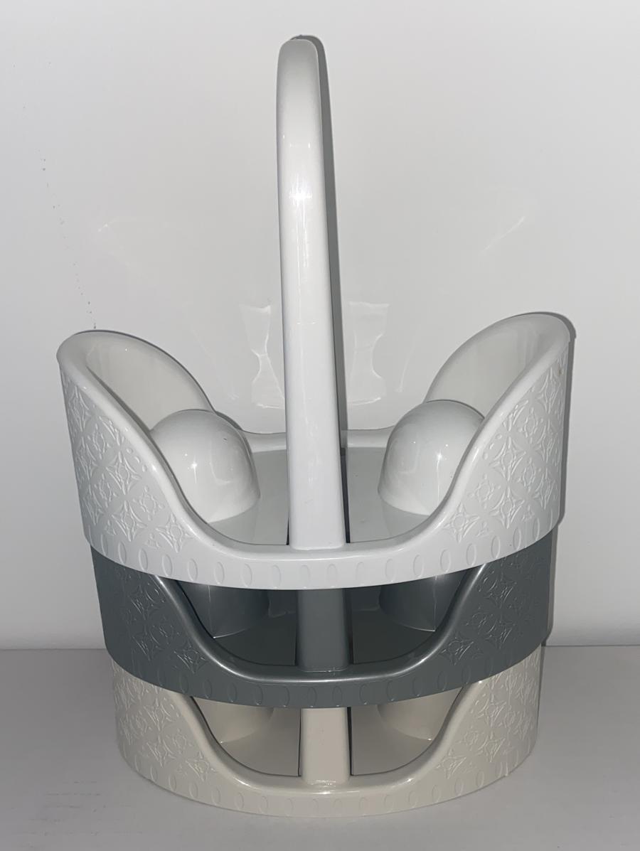 מתקן כוסות שולחני ראטן