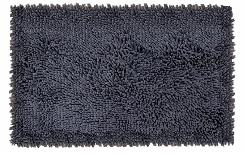 שטיח אמבטיה נצמד איכותי ונעים במיוחד - Gray