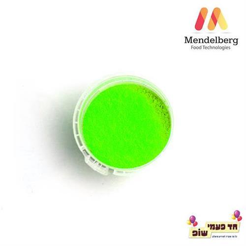 צבע מאכל מסיס שומן ירוק