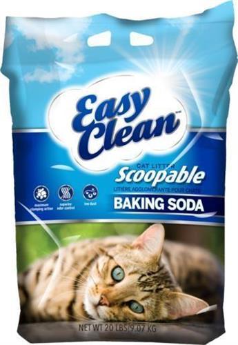 "Easy Clean איזי קלין 18 ק""ג חול מתגבש ריחני לחתולים"