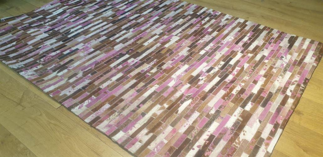 שטיח עור עבודת יד 01