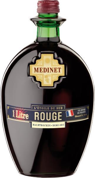 יין מידנייט אדום חצי יבש צרפתי