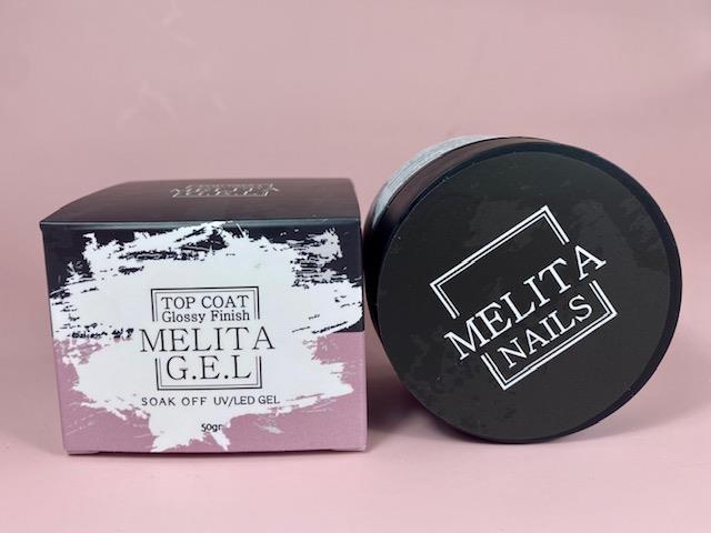 MELITA top Coat Glossy Finish 50g