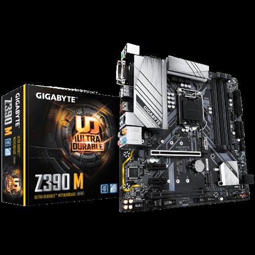 לוח אם למעבד אינטל דור 9 ו -8 GIGABYTE Z390 M HDMI