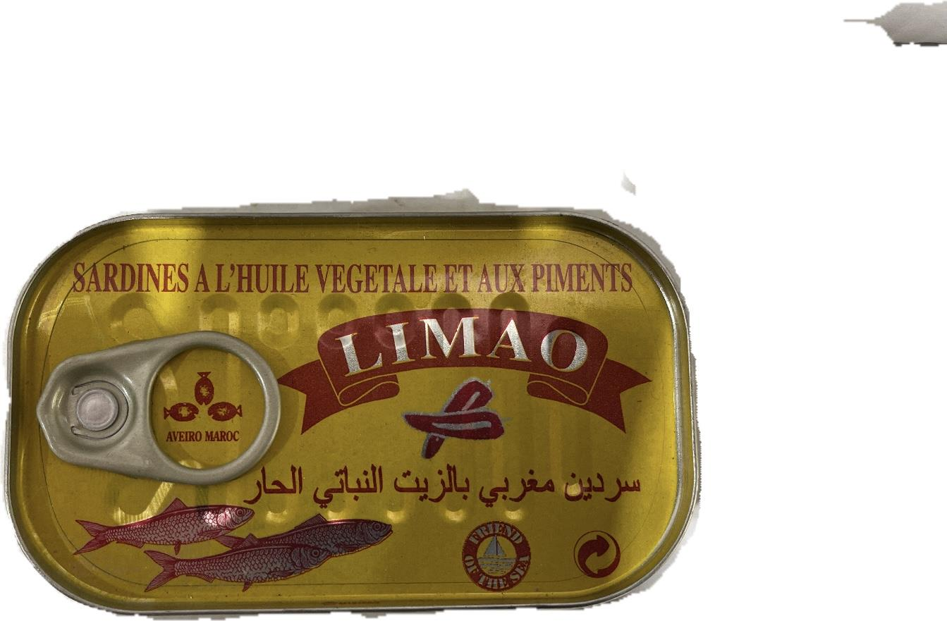 סרדין מרוקאי לימאו 125 גרם חריף