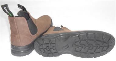 מגפיים 43 נאות מגף הליכה יציאה בילוי ועבודה מבית CAMPTOWN 22513  צבע חום כהה