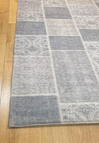 שטיח מודפס- אפור