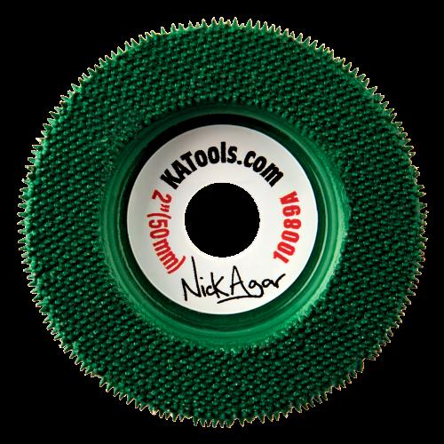 """דיסק 2"""" (ירוק) merlin 10089"""