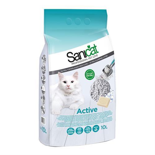 חול סאני קט מתגבש בניחוח סבון מרסיי 10 ליטר