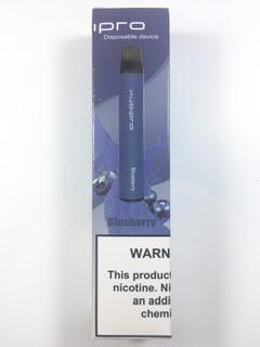 סיגריה אלקטרונית חד פעמית כ 2000 שאיפות Kubipro Disposable 20mg בטעם אוכמניות Blueberry
