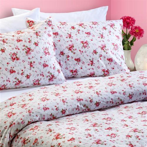 סט מצעים למיטה 5 חלקים 100% כותנה - הדר