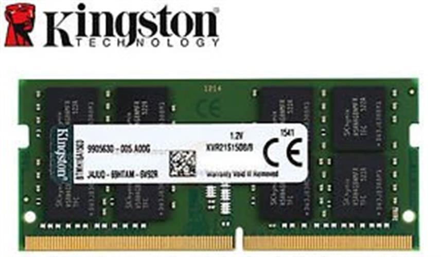 זכרון למחשב נייד KINGSTON KVR26S19S8-8 8GB DDR4 2666 SO-DIM