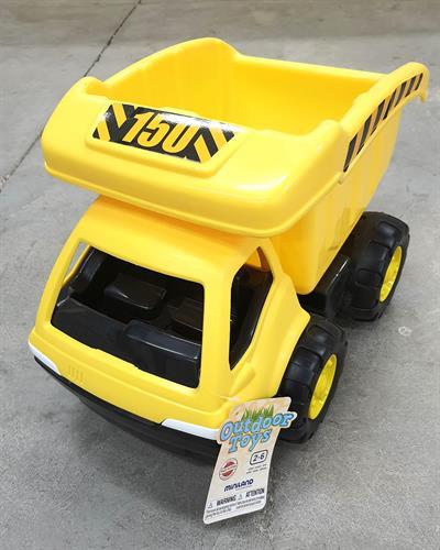 משאית צהובה איכותית