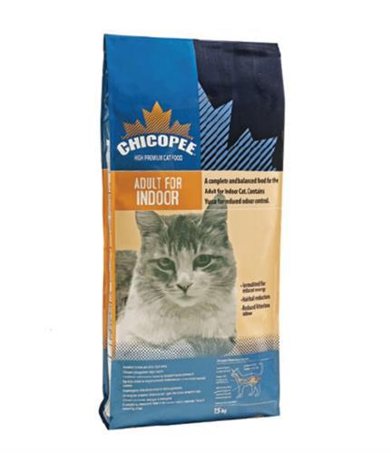 """620164002513 מזון יבש לחתולי בית בוגרים 15 ק""""ג Chicopee"""
