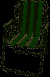 כיסא מתקפל פסים לפיקניק כיסא נוח CAMPTOWN