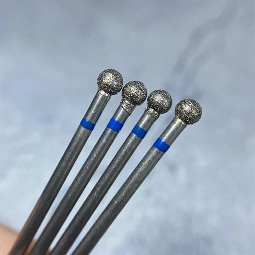 ראש יהלום למניקור - כדור כחול להסרת הקטיקולה #5.0
