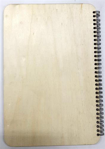 ספר ספירלה עץ 10 דפים