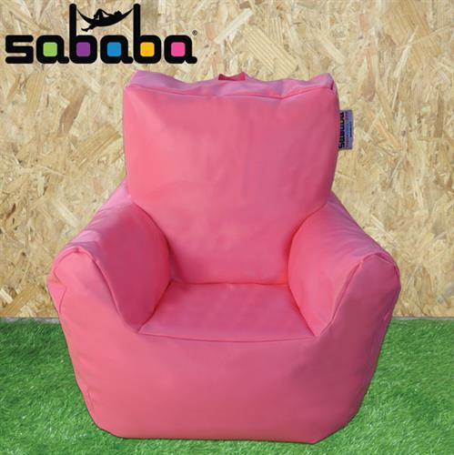 סבבה פוף כורסא לילדים מעוצבת דמוי עור נוחה במיוחד!